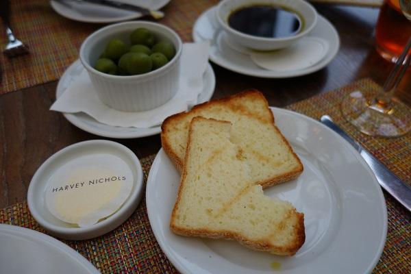 Harvey Nichols Cafe and Terrace Gluten Free Bread