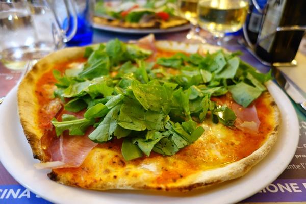 Gluten free pizza La Luna