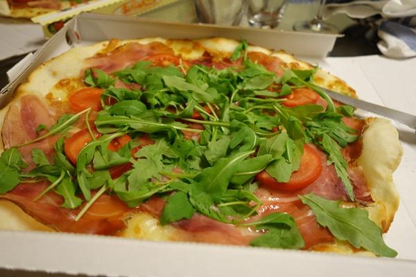 Gluten free pizza La Tufa